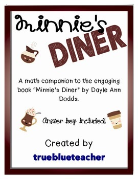 Minnie's Diner - Multiplication Math Enrichment Activity