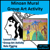 Minoan Mural Group Art Activity