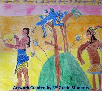 Minoan Mural Group Art Activity
