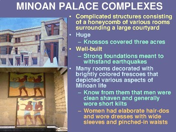 Minoans and Mycenaeans Powerpoint