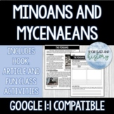 Minoans and Mycenaeans -- Includes Print and Google Compat