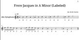Minor Folk Song Medley for Off Instruments