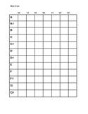 Minor Scale Worksheet