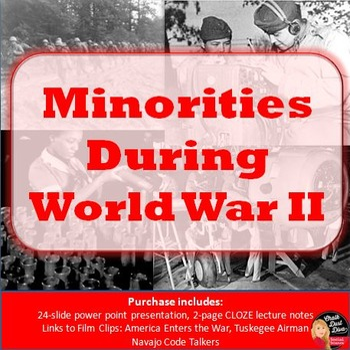 World War II - Minorities in America During the War (U.S. History)