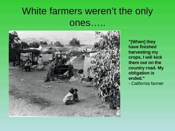 Minorities and the Great Depression