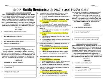 Minority Movements