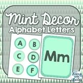 Mint ABC Letters