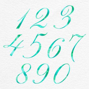 Mint Alphabet, Brush Lettering Letters {Pretty ABC's}