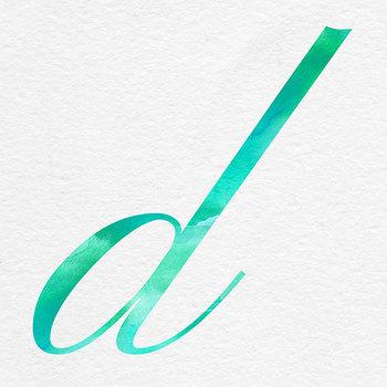 Mint Alphabet, Brush Lettering Letters