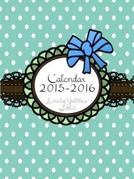 Mint Calendar 2015-2016