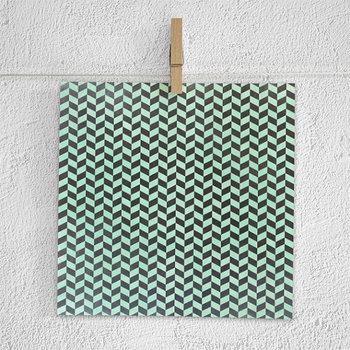 Mint Chalkboard Digital Paper