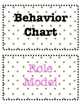 Gold Dot Behavior Chart