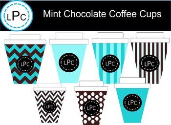 Mint Chocolate Coffee Cup Fun