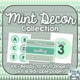 Mint Decor Collection