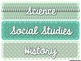 Mint Decor Subject Labels