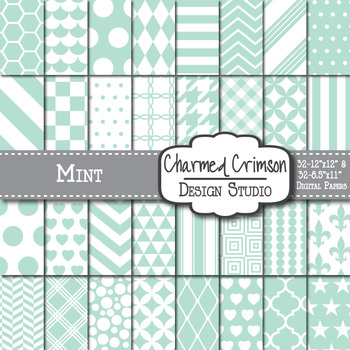 Mint Digital Paper 1024