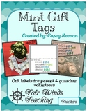 Mint Gift Tag (End of the Year)