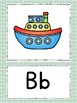 Mint, Gray and Orange Boho Arrows Alphabet