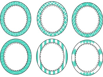 Mint Green Labels