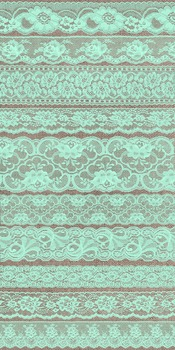 Mint Green Vintage Lace Borders Clipart Scrapbook Embellishments