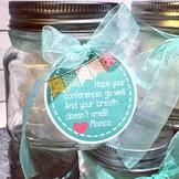 Mint Jar Tags