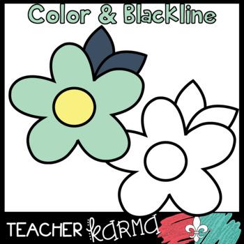 Mint & Navy Graphics BUNDLE * Pretty Teacher Clipart
