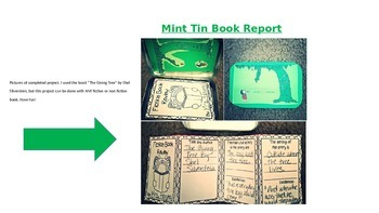 Mint Tin Book Report: Fiction and Non Fiction Books