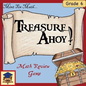 Mint Tin Math: Treasure Ahoy! (6th Grade Edition)