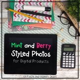Mint and Berry Tablet Mock-ups