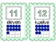 Mint and Grey Number Line 1-20