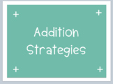 Mint theme Addition and Subtraction Strategies
