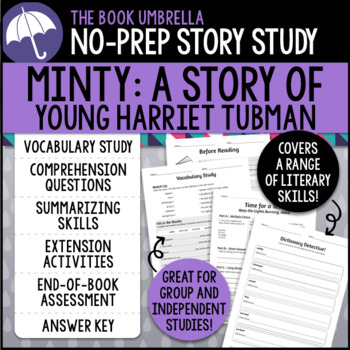 Minty: A Story of Young Harriet Tubman Story Study