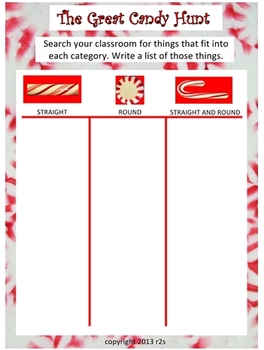 Minty Math Candy Cane Printables & Math Ideas for K-1