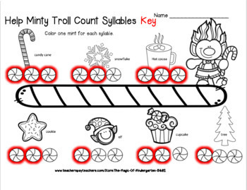 Minty Troll Counts Syllables