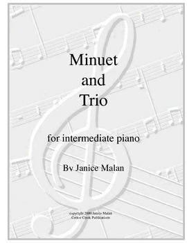 Minuet and Trio for piano