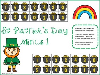 Minus 1 Games -St. Patrick's Day