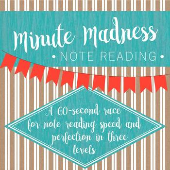 Minute Madness Note Reading