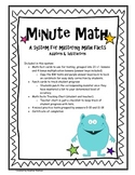 Math Facts in Minutes - A system for mastering math facts