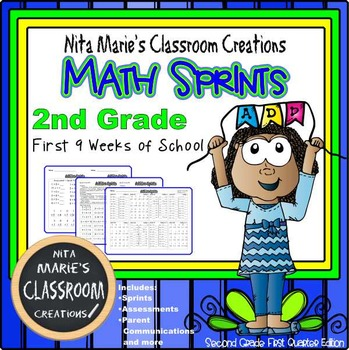 Minute Math ~ Addition Sprints
