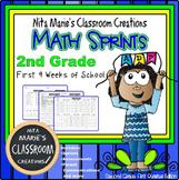 Minute Math ~ Addition Sprints ~ Part 1