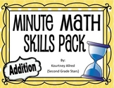 Minute Math Addition Time Tests