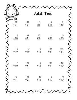 Minute Math Monster Theme