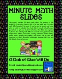 Daily Minute Math Slides