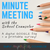 Minute Meeting for the School Counselor