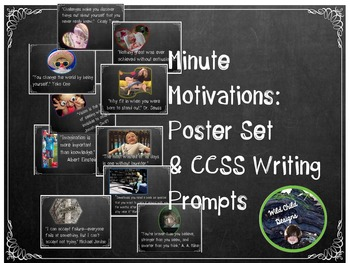 Writing Prompts & Posters: Posters,  Prompts & Assessments
