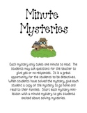 Minute Mysteries for Students