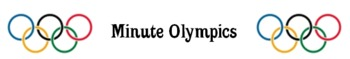 Minute Olympics: Reviewing Range, Median, and Mode