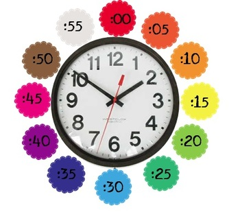 Minute Stamps for Clock