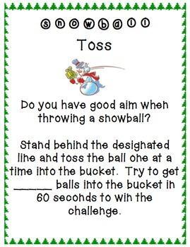 Minute To Win It Christmas Games