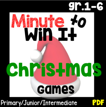 Minute To Win It Christmas.Minute To Win It Christmas Games